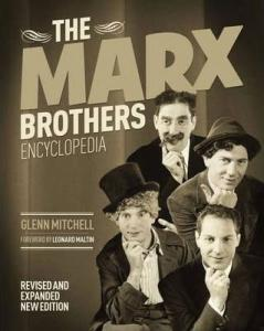 Couverture du livre The Marx Brothers Encyclopedia par Glenn Mitchell