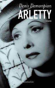 Couverture du livre Arletty par Denis Demonpion