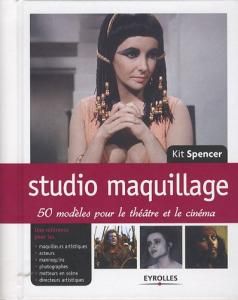 Couverture du livre Studio maquillage par Kit Spencer