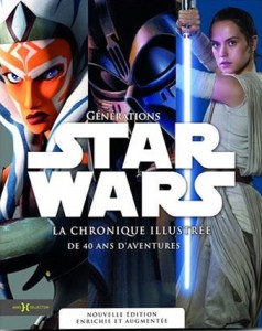 Couverture du livre Générations Star Wars par Collectif dir. Dorling Kindersley