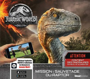 Couverture du livre Jurassic World - Fallen Kingdom par Collectif
