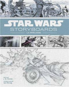 Couverture du livre Star Wars Storyboards par Collectif dir. J.W. Rinzler
