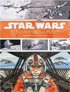 Couverture du livre Star Wars storyboards par Collectif dir. J-W Rinzler