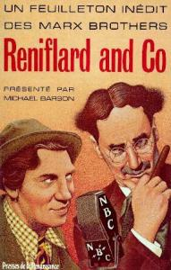 Couverture du livre Reniflard and Co par Marx Brothers