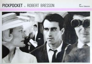 Couverture du livre Pickpocket de Robert Bresson par Pierre Gabaston
