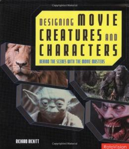 Couverture du livre Designing Movie Creatures and Characters par Rickard Rickitt