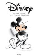 Disney, Mickey & friends:Tout l'univers à colorier